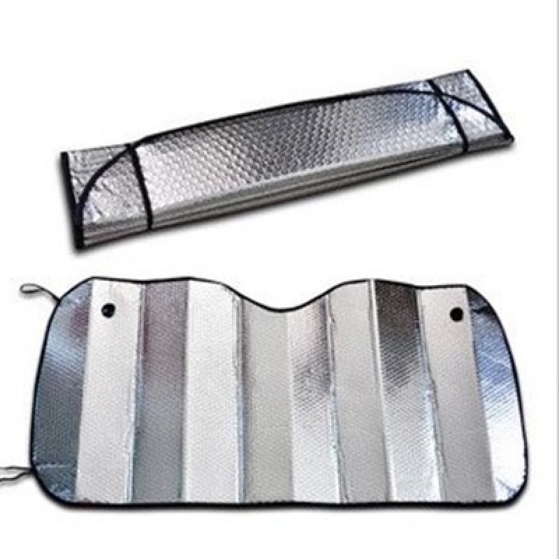 car sunshade foldable pe aluminum foil car front sunshade