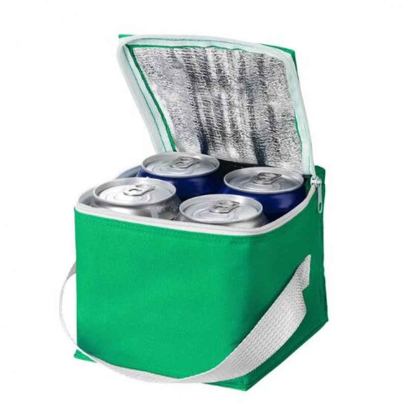 Accept customized logo and packing non woven insulated lunch thermal cooler bag