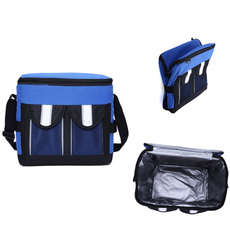 collapsible camping insulated cans food cooler bags