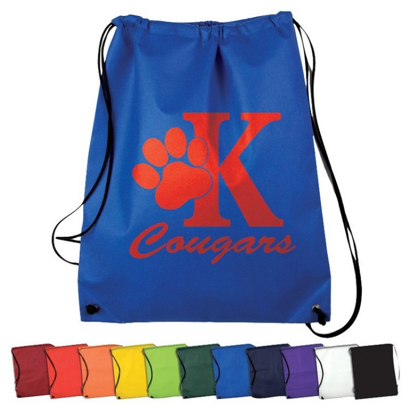 Promotional Cinch-Up Nonwoven Drawstring Bag
