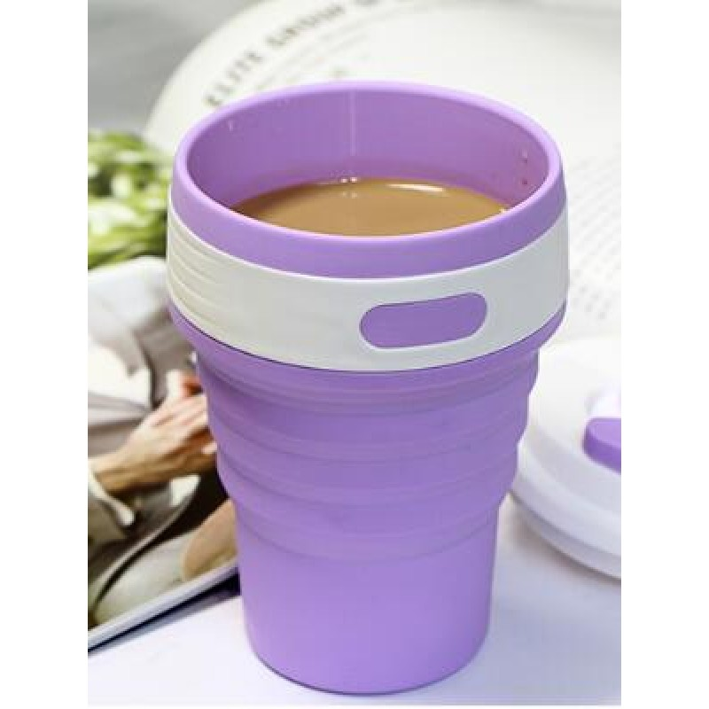 Hot selling folding silicone water cups