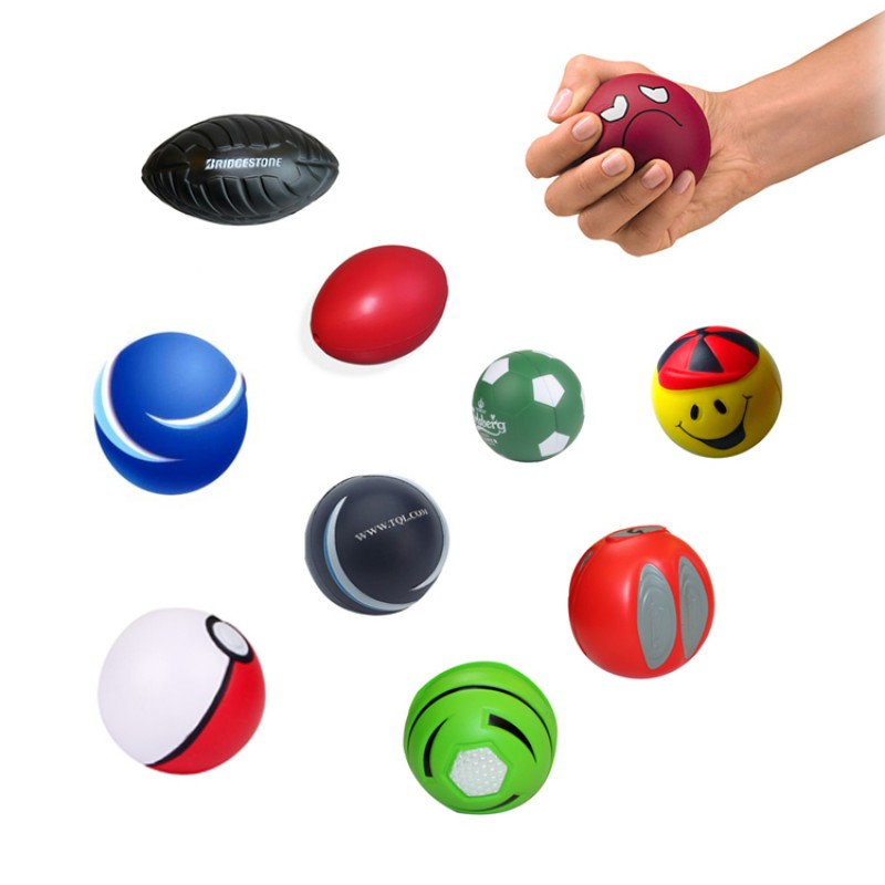 High quality novelty basketball hand squeeze anti stress ball