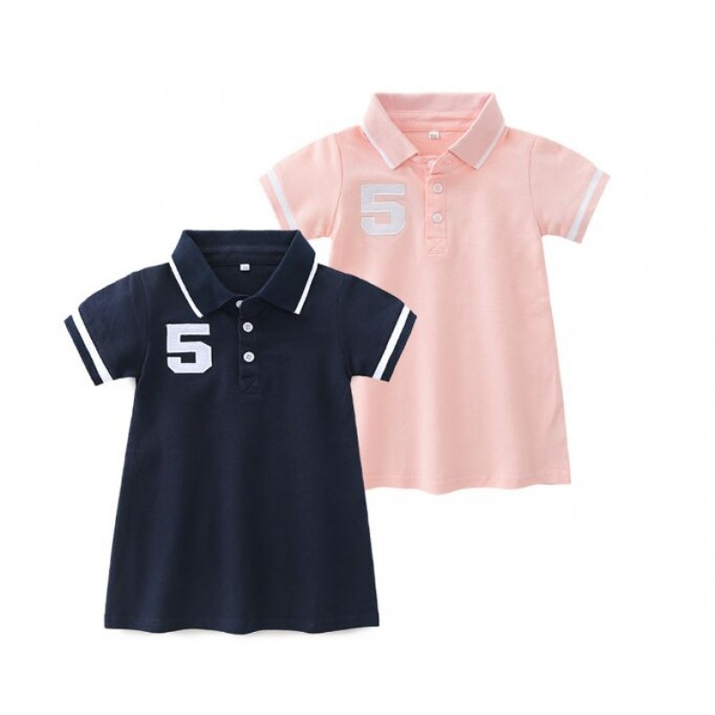 Children's Polo T-shirt dress