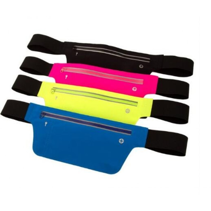 Colorful Waterproof Running Belt Waist Bag Outdoor Fitness Sports Waist Bag