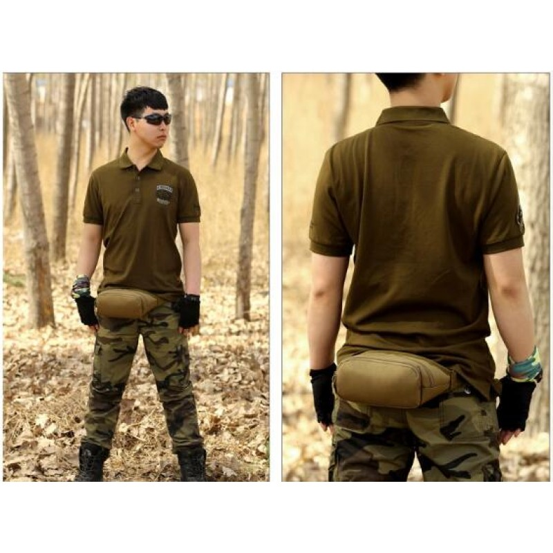 China factory unisex sport military waist bag