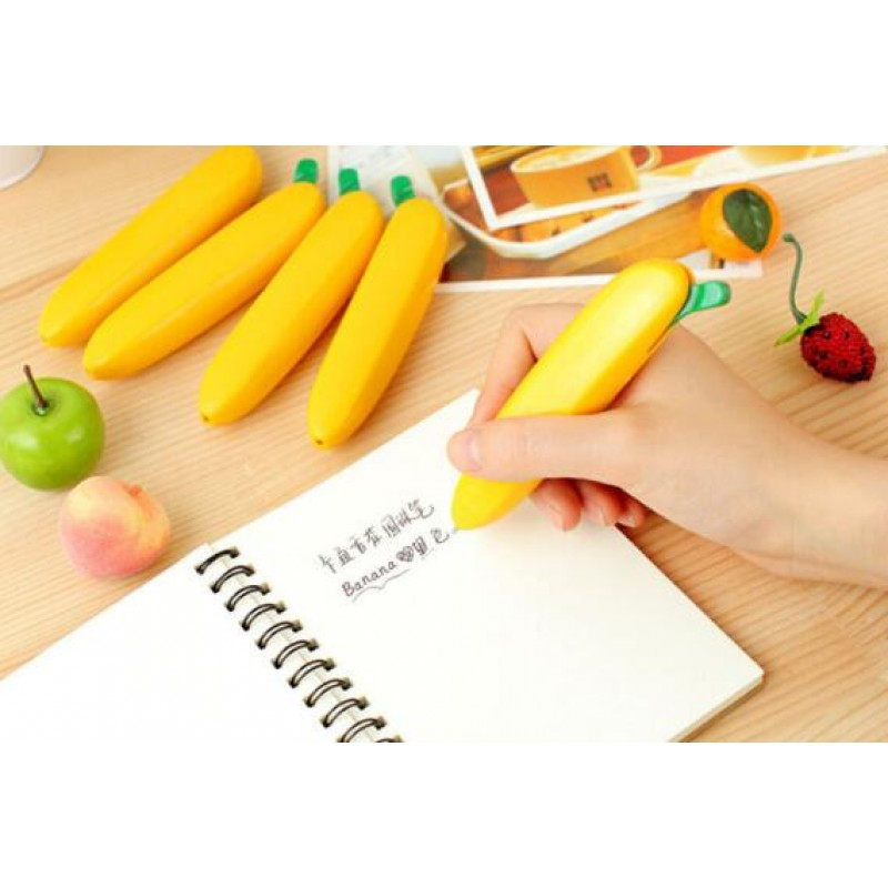 Pen Ballpoint Kawaii Pens for Writing Banana Caneta Material Escolar School Supplies Cute Stationery