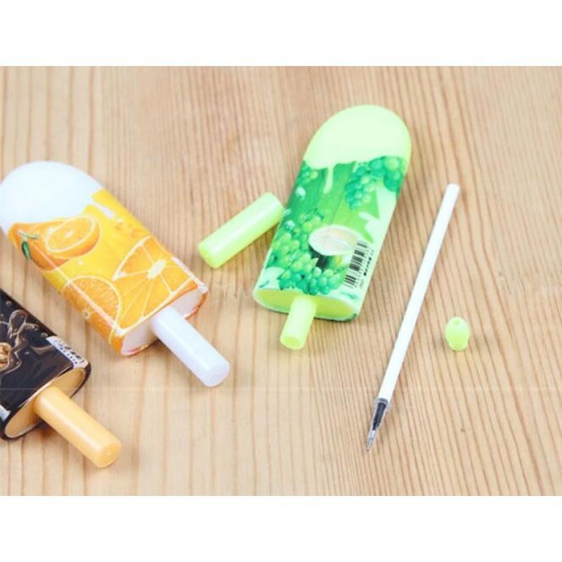 Creative ice cream popsicle pen ball point pen