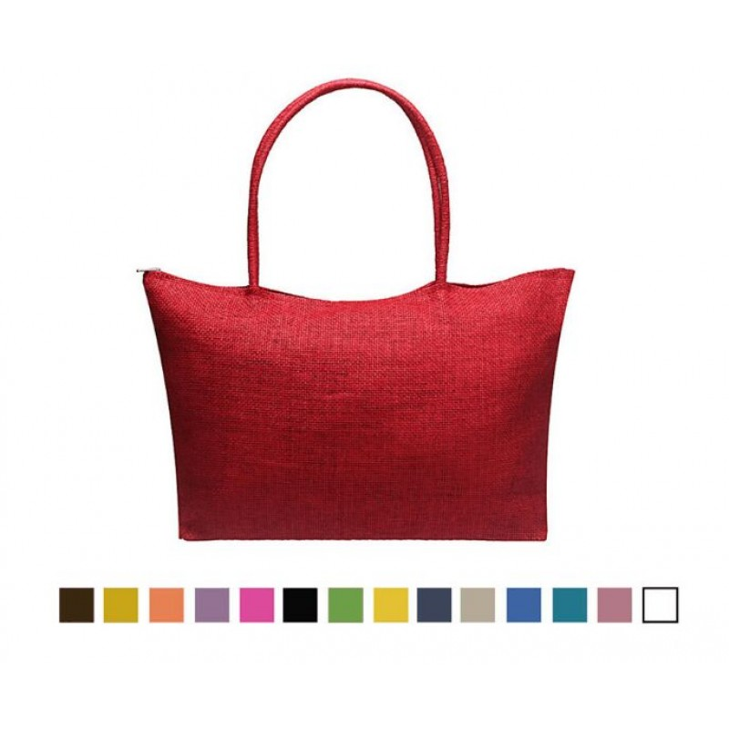 Summer Beach bag female 2019 new Fashion Simple Candy Color