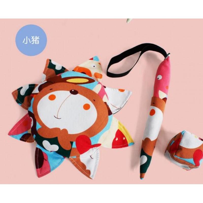 2019 New Style Fabric Safe Soft Frisbee Toy Set