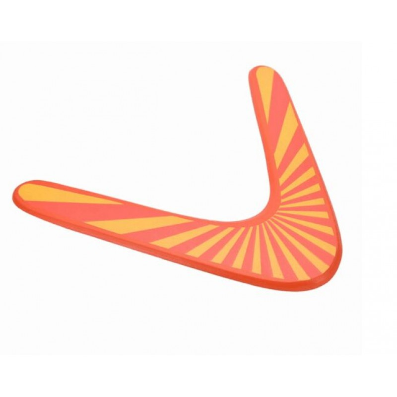 Outdoor Beach Games Classic Throwing Flying Toys Fun Boomerang Sports Flying Disc