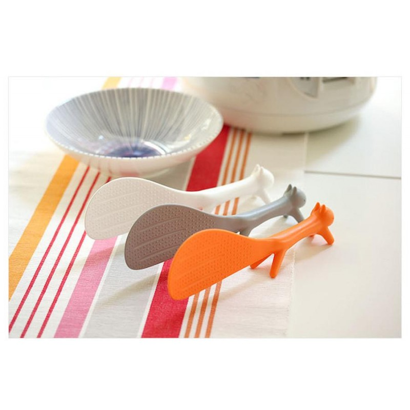 Plastic Rice Spoon Promotional Wholesale Unique Lovely Animal Creative Rice Spoon