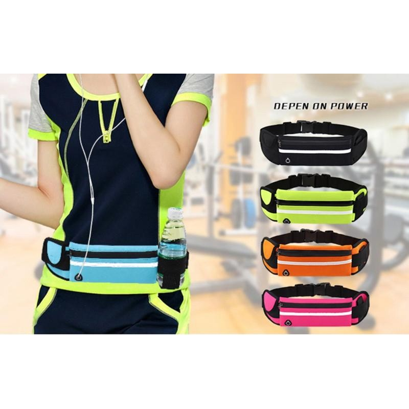 Outdoor Sports Pockets Anti-Theft Mobile Phone Running Belt
