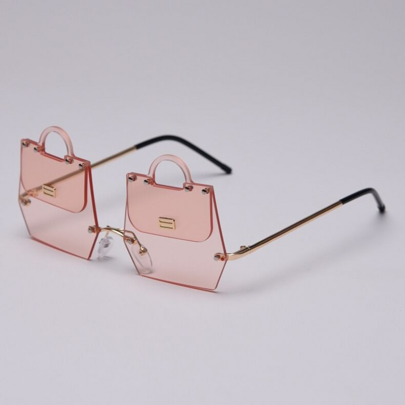 2019 New Chic Handbag Shape Sunglasses Women Luxury Brand Design