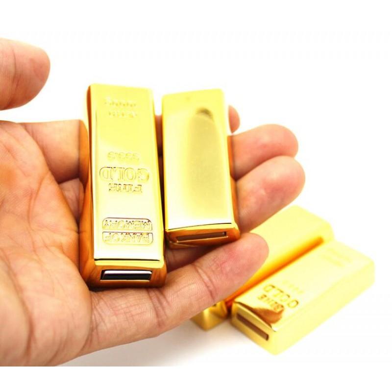 Metal Gold bars/brick model USB Flash Drive Bullion pen drive