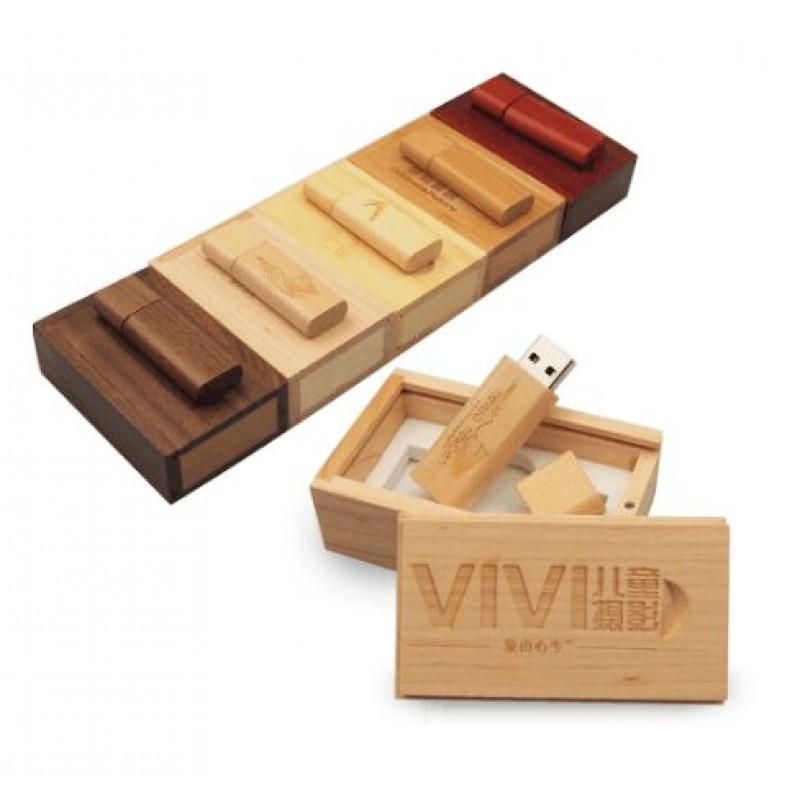 Maple wood usb flash personlized design memory stick