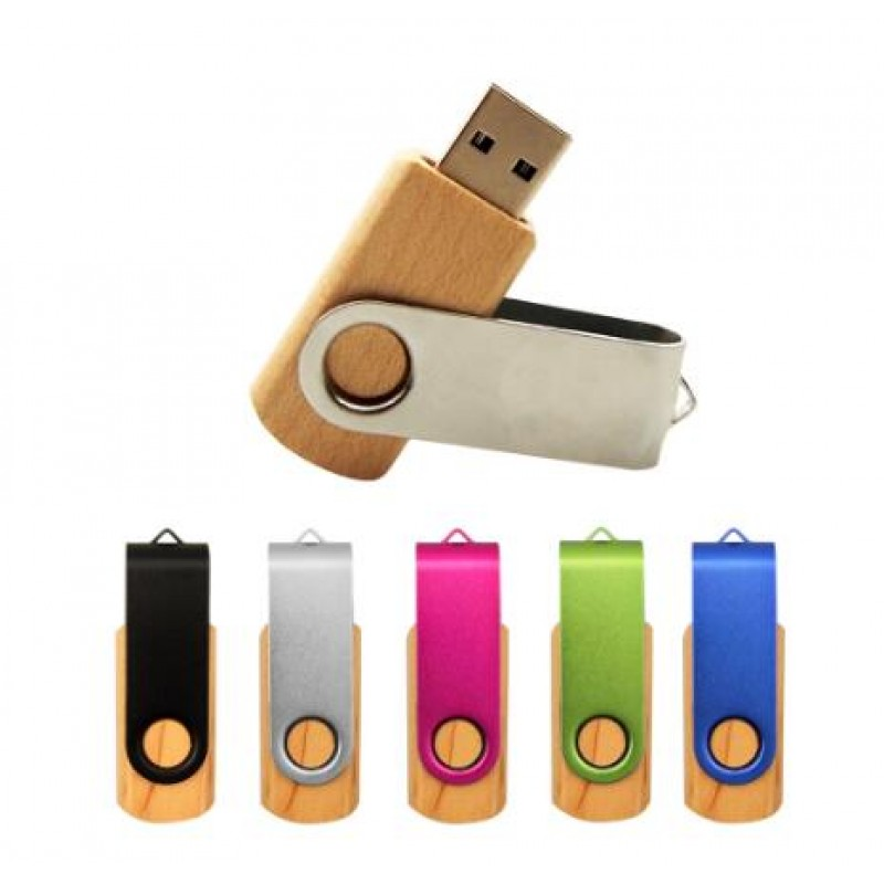 Custom Wood Maple Clips Usb Flash Drive 2.0 4GB 8GB 16GB 32GB Usb