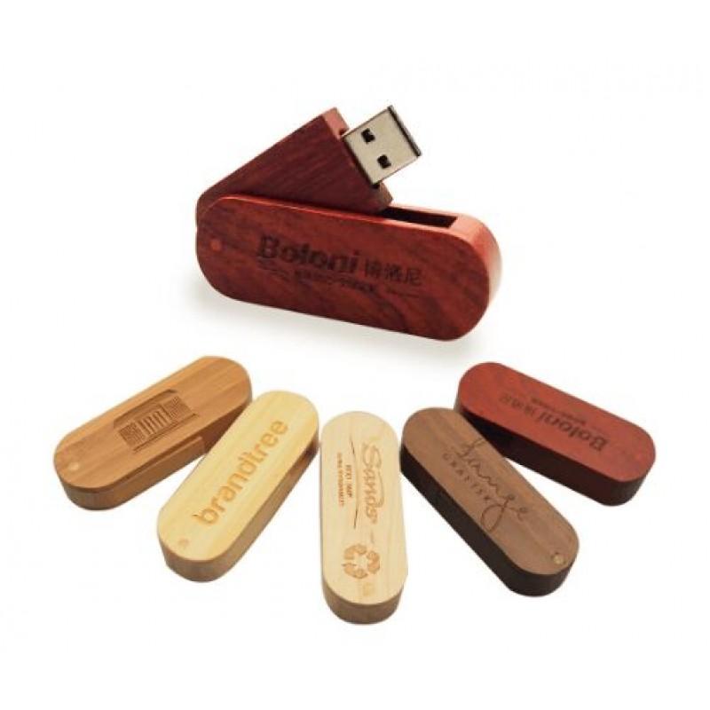 Custom Logo Wooden USB 2.0 Flash Pen Drive 4GB 8GB 16GB Memory U Stick 32GB Usb
