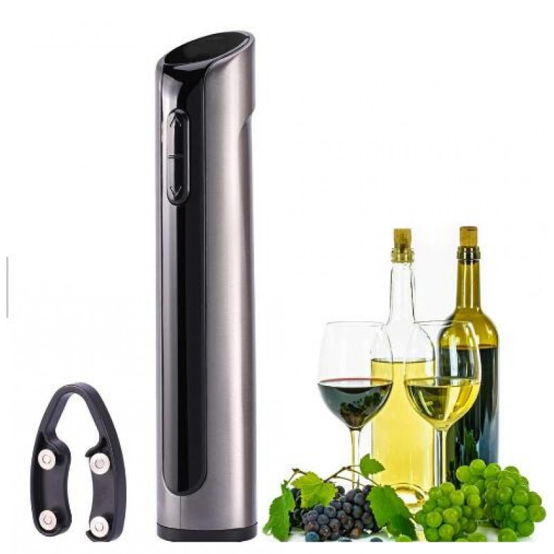 top seller 2019 wine accessories gift set Rechargeable electric wine opener
