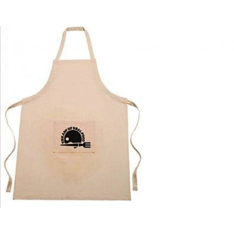 100% Cotton Apron Natural