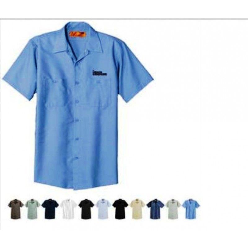 Cheap Short Sleeve Industrial Work Shirt