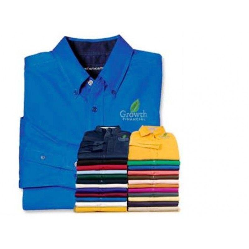 Cheap Men's Tall Size Long Sleeve Easy Care Shirt