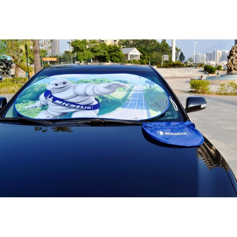 Cheap 190T Nylon Folding Car Sunshade