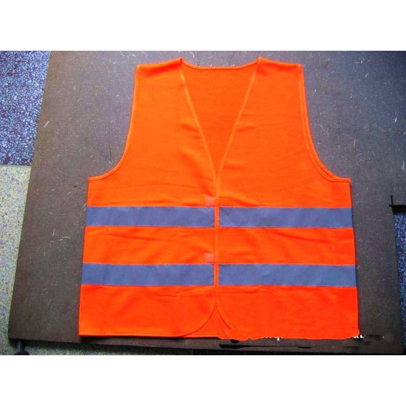 Orange Reflective Vest-XXL Large