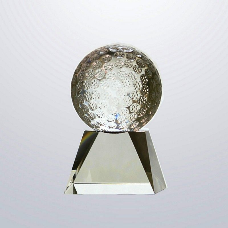Cheap Crystal Golf Award