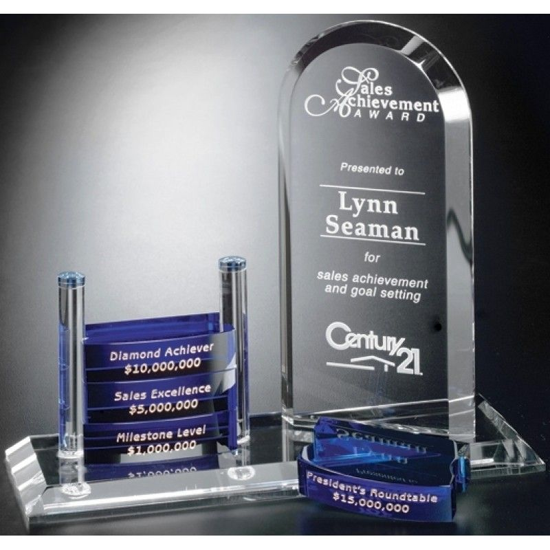 Cheap Crystal Goal-setter Arch Award