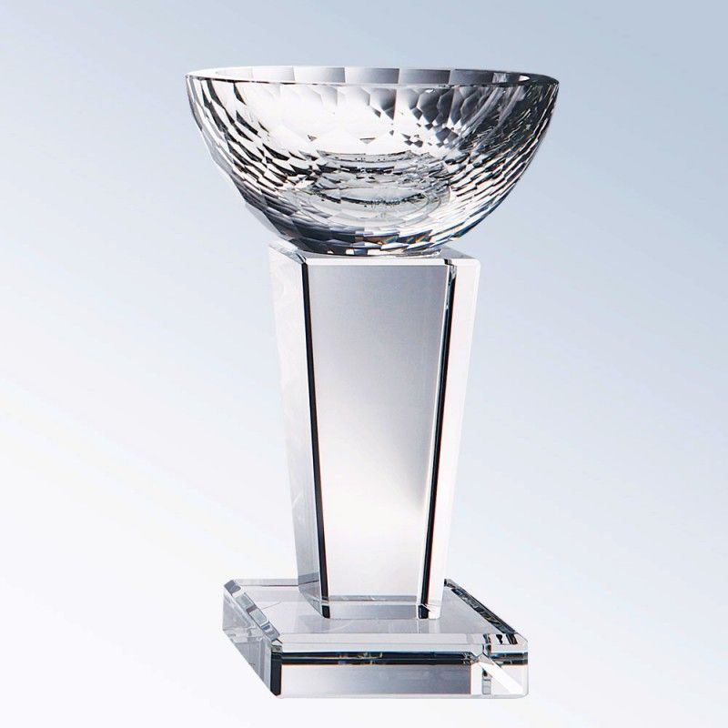 "Cheap 7"" Glory Crystal Trophy Cup - Small"