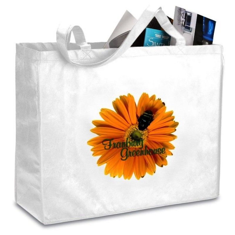 "Celebration Shopping Tote Bag - 16"" x 20"" - Full Color"