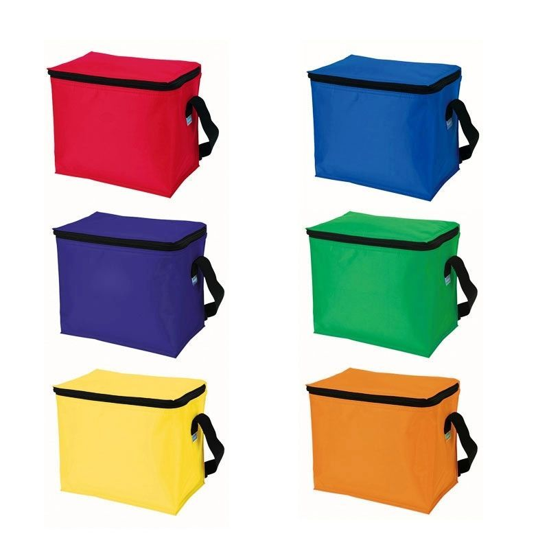 Cheap 6 Pack Cooler W/ Contrast Trim