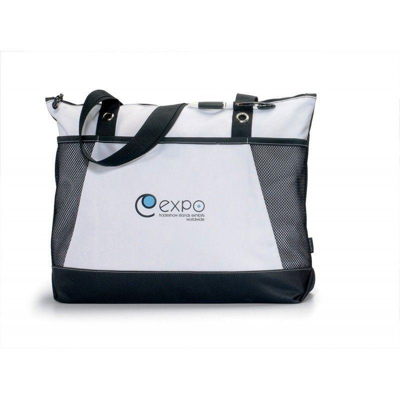 Cheap Venture Business Tote Bag W/ Black Accent