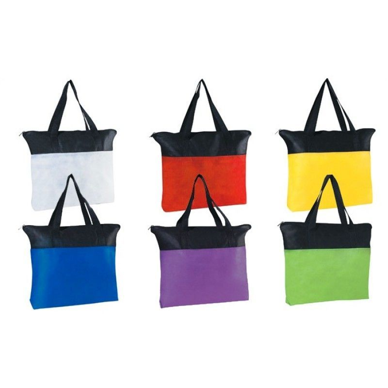 Cheap Airy Zip Tote - Colors