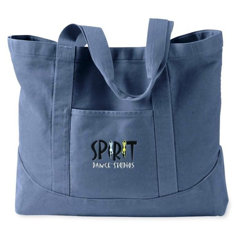 Authentic Pigment Dyed Canvas Tote Bag