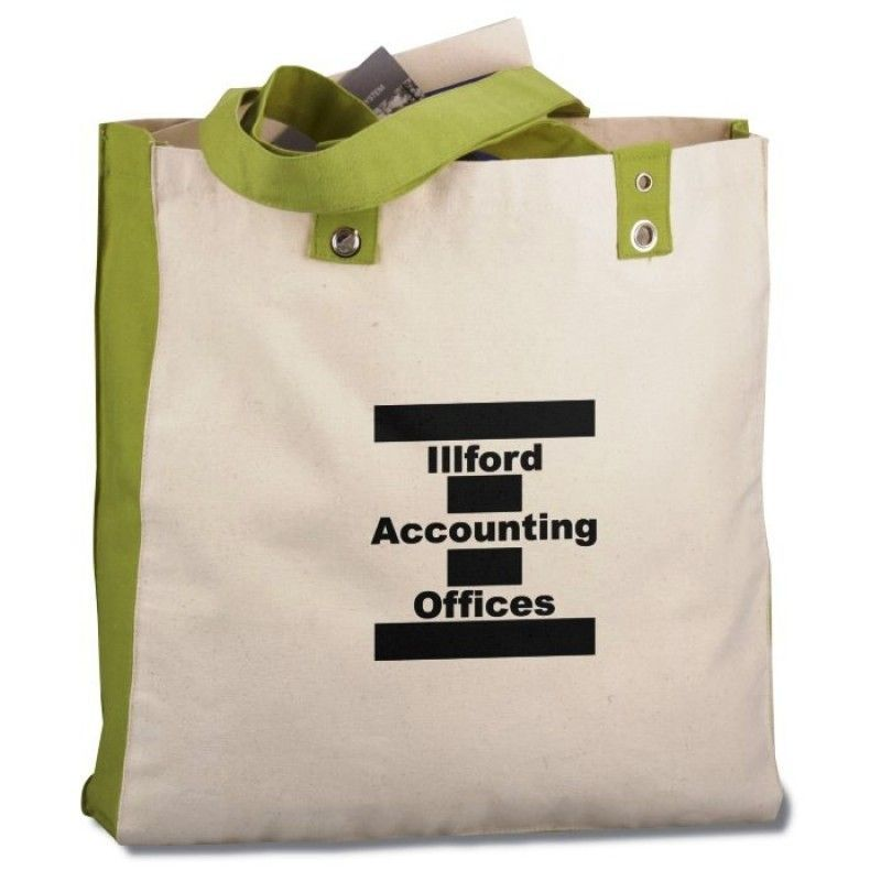Cotton Canvas World Tote