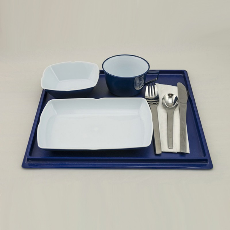 Airplane Reusable ABS Tableware Set for Food