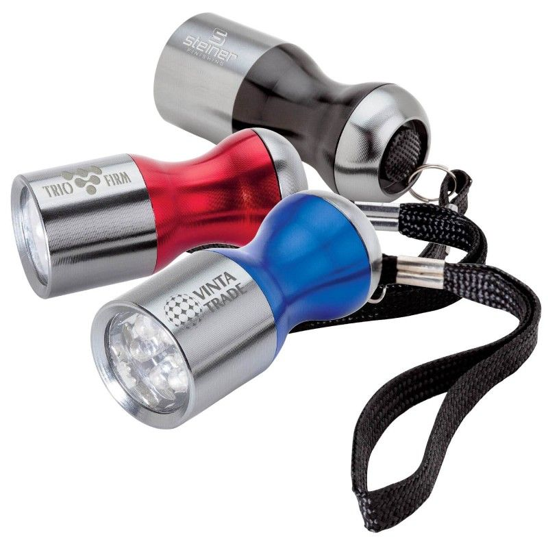 6 LED Flashlight W/ Wrist Strap