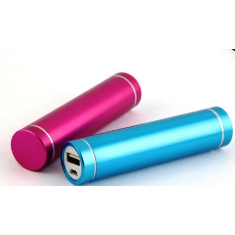 Cylinder Tube Power Bank - 2400HAM/2600HAM