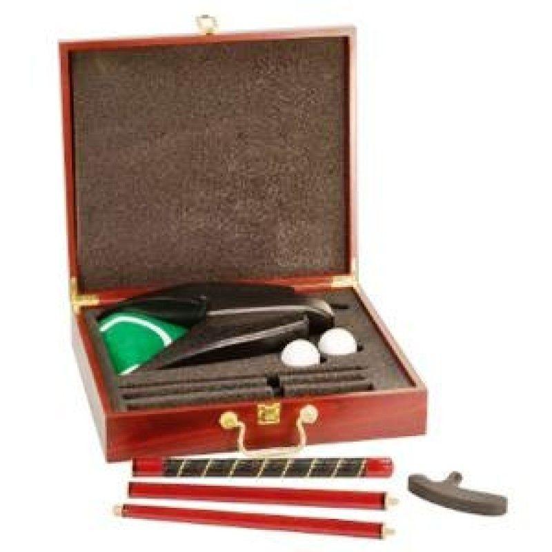 Rosewood Finish Executive Golf Set