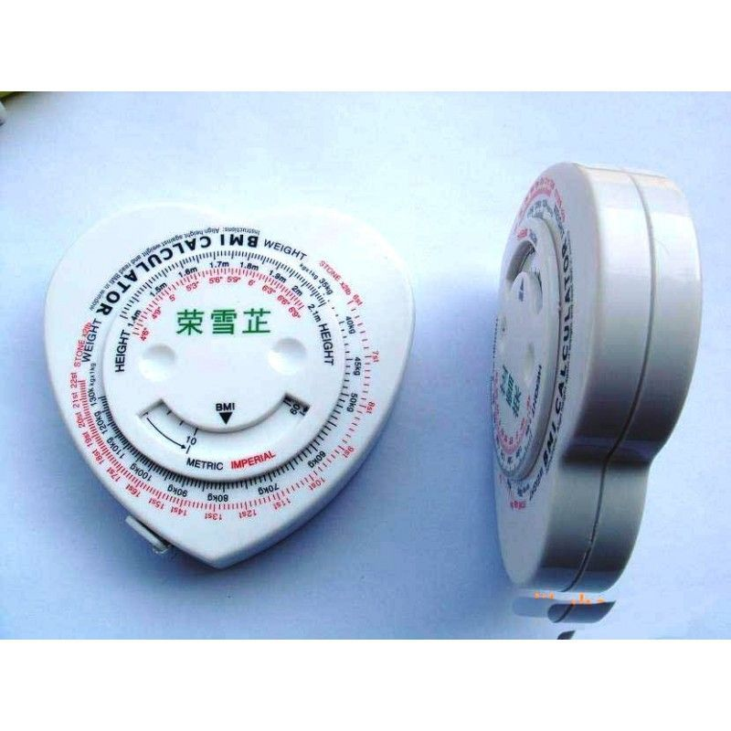 Cheap Heart Shaped BMI Tape Measure