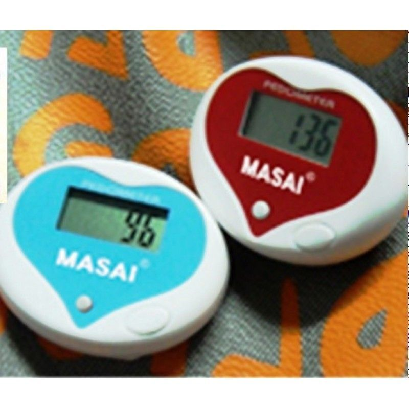 Multi-Function Heart Shaped Pedometer