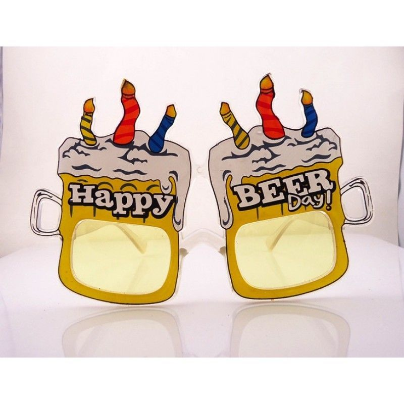 Cheap Beer Mug Birthday Party Eyeglasses
