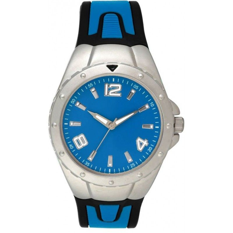 Pedre Reflex Sport Watch With Blue Polyurethane Strap