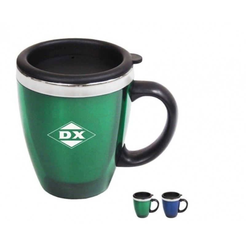 Cheap Acrylic/Stainless Steel Java Mug, 20oz.