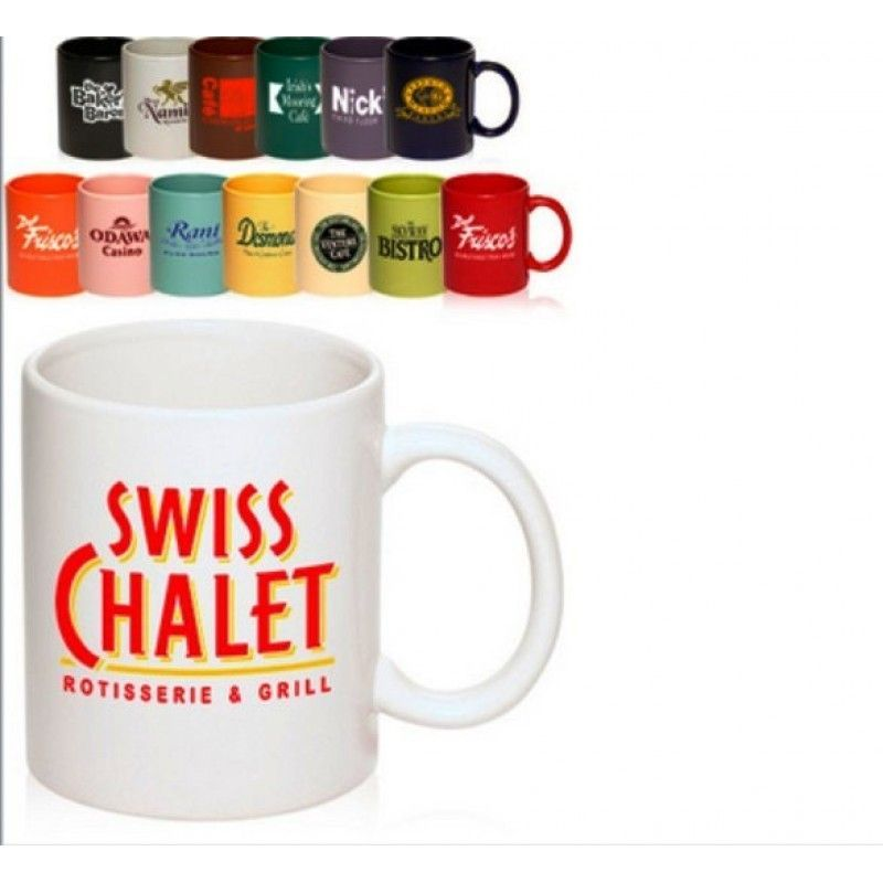 11 oz. Ceramic mugs