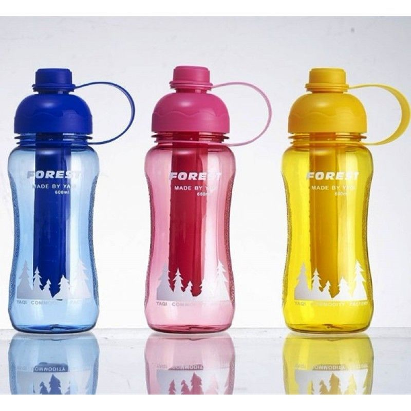 600ML Water Bottle with Ice Stick