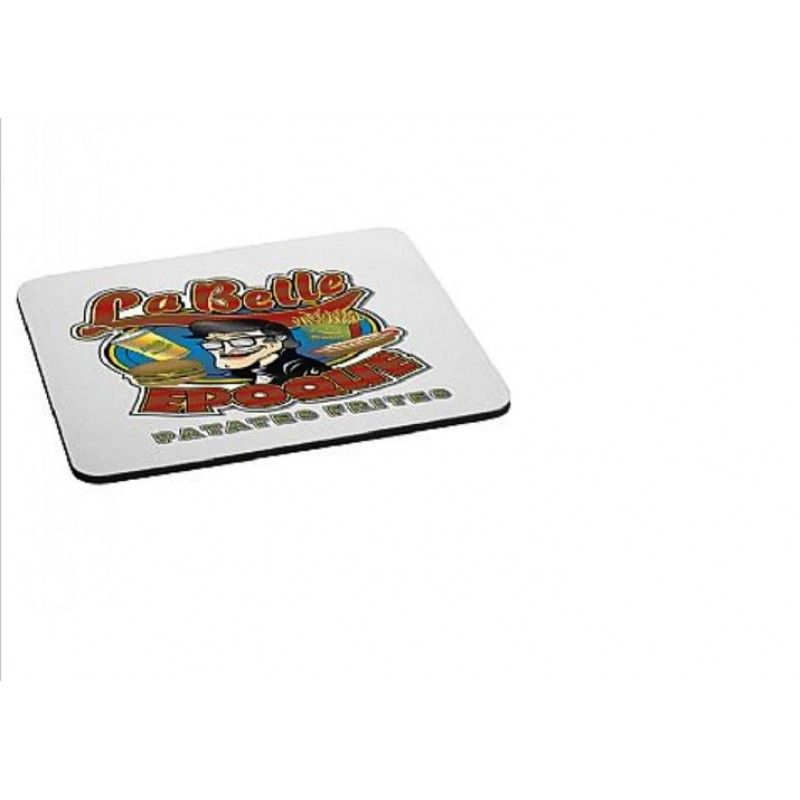 """Cheap Rectangular Rubber Mouse Pad - 1/4"""" Thick"""