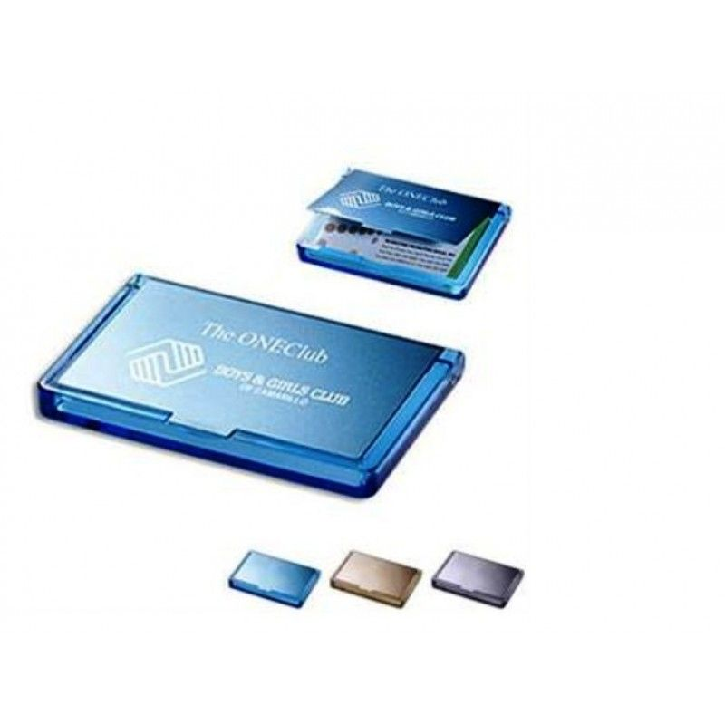Promotional Acrylic & Stainless Steel Business Card Case