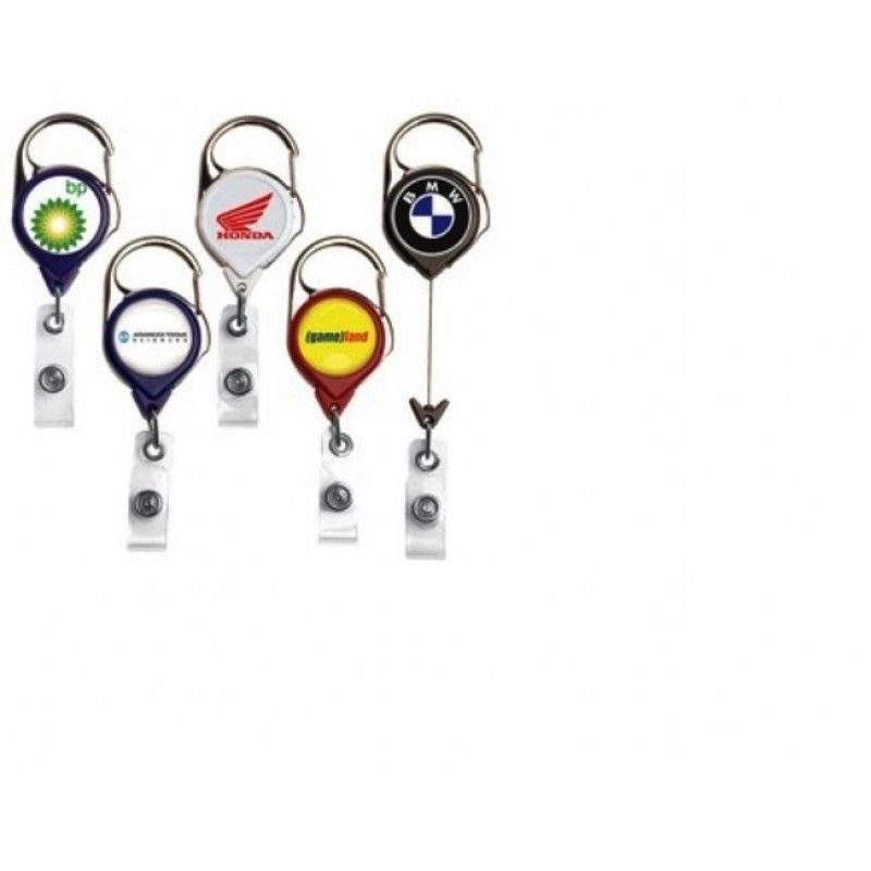 CARABINER RETRACTABLE BADGE REEL